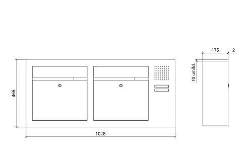 siedle cl bf3a n 02. Black Bedroom Furniture Sets. Home Design Ideas
