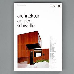 Architektur Magazin siedle das siedle magazin architektur an der schwelle